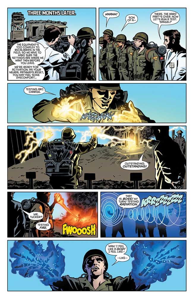 Bloodshot and the HARD Corps #1