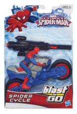 ULTIMATE-SPIDER-MAN-BLAST-N-GO-SPIDER-CYCLE-In-Pack-A6642
