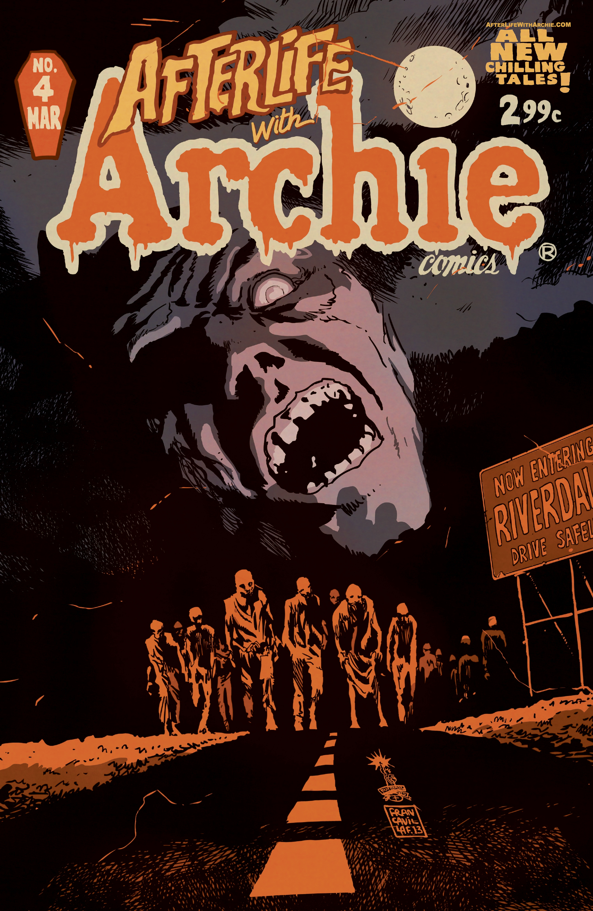 Archie comics archie comics sneak peek of the week major spoilers - Afterlife Archie_4_cover Afterlife With Archie