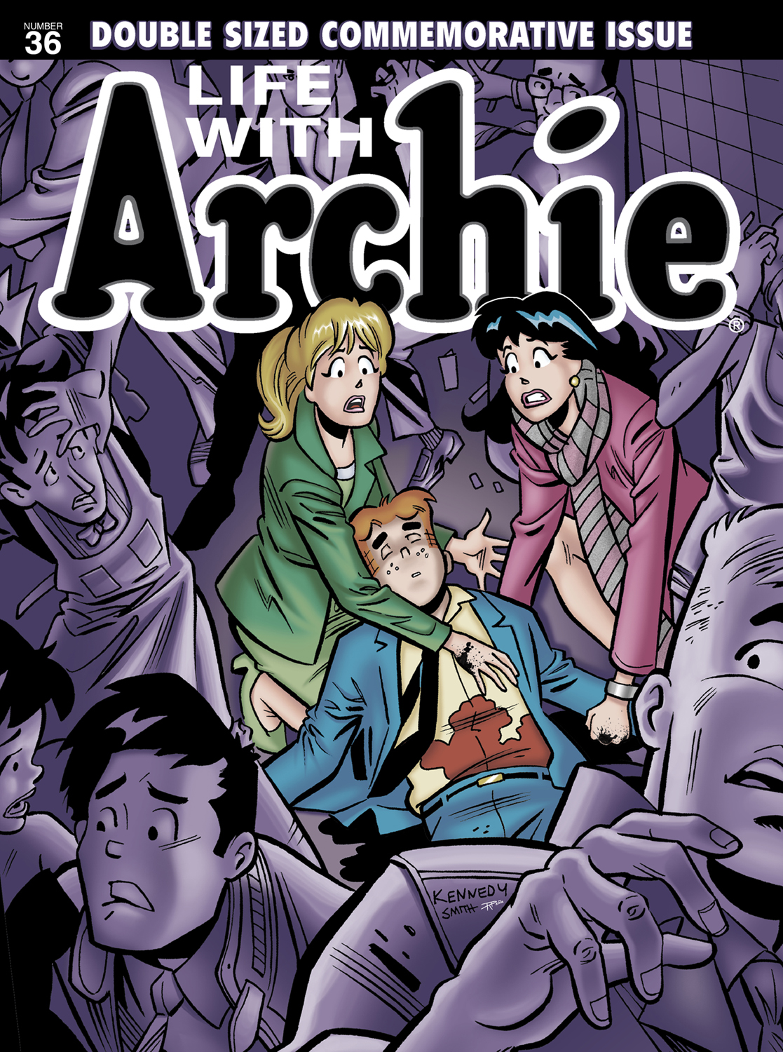 Archie comics archie comics sneak peek of the week major spoilers - Lifewitharchie_36_magazine In Addition To The Acclaimed Regular Life With Archie Creative Team The Two Comic