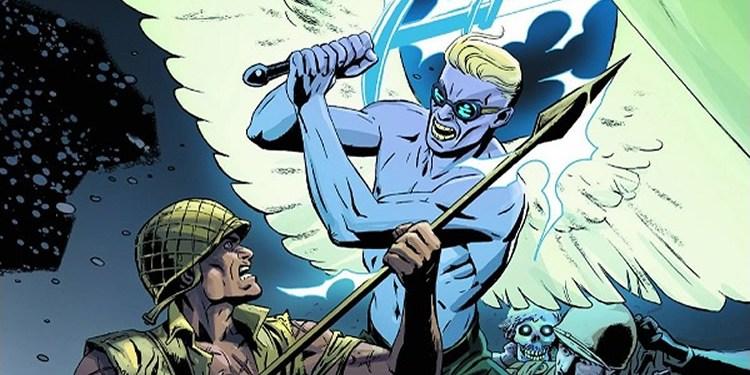 Wayne Hall, Wayne's Comics, Peter J. Tomasi, Light Brigade, Batman, Robin, Dark Horse, DC Comics, The Mighty,