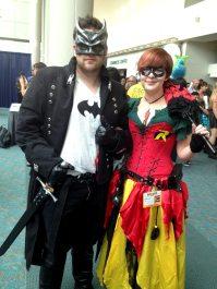Fancy Batman and Robin