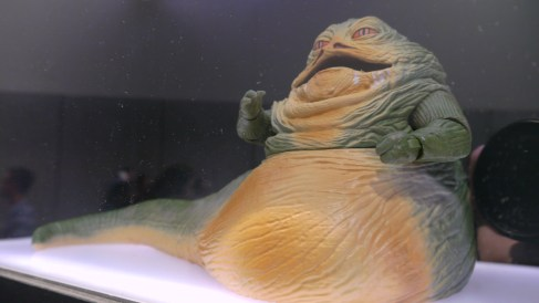 Jabba The Hutt Action Figure - Major Spoilers