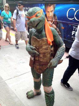 Real Life Ninja Turtle