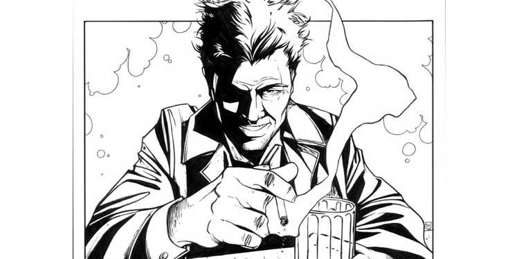 Wayne Hall, Wayne's Comics, Jeremy Haun, Batwoman, Constantine, NBC, Bad Karma,