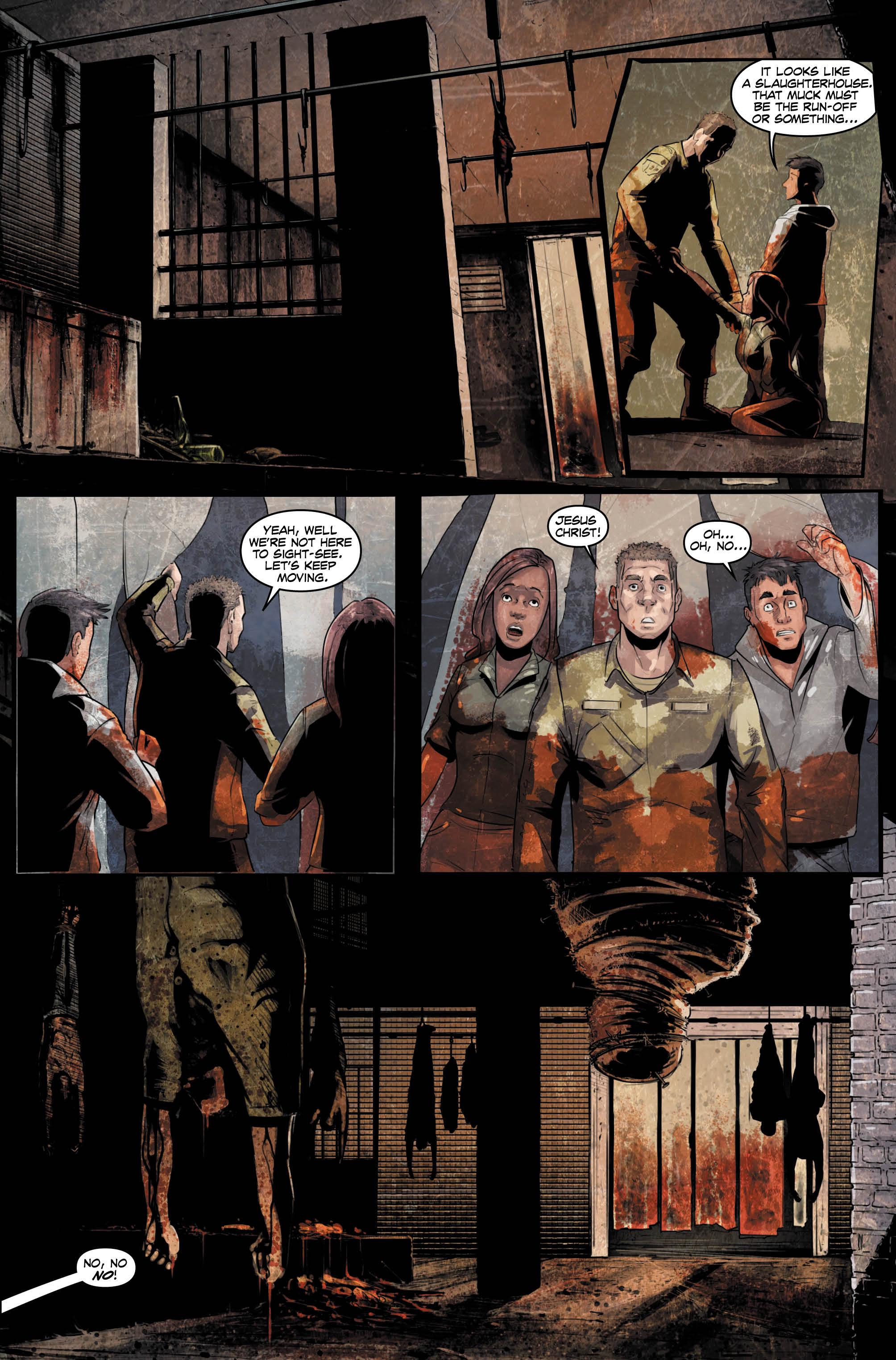 Archie comics archie comics sneak peek of the week major spoilers -  Evil Within 3 Preview 3 Via Titan Comics