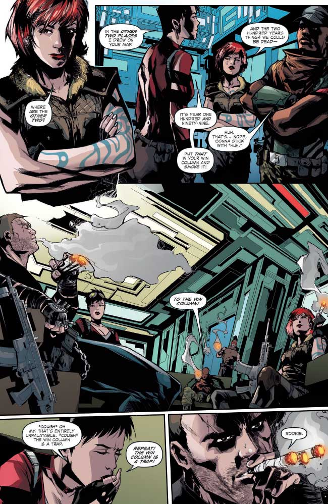 SNEAK PEEK: Borderlands #7: Tannis & The Vault Part 3 (of
