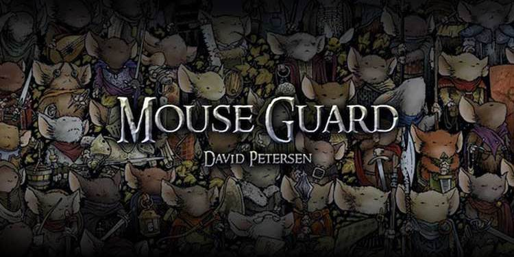 Mouse Guard, David Petersen, Archaia