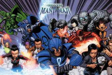 Wayne Hall, Wayne's Comics, Eric Dean Seaton, Legend of the Mantamaji, Brandon Palas, , diversity in comics, Elijah Alexander, Noah, Detective Sydney Spender, Brother Hope, Sirach, New World Knights