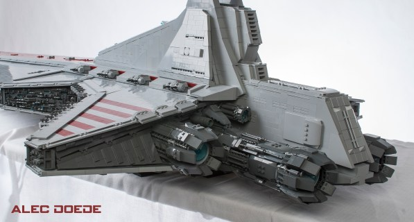 LEGO Star Destroyer 9