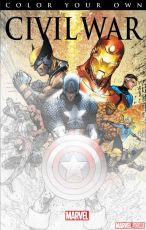 Adult coloring books, Marvel, James Patterson, Max Ride, Age of Ultron, variant covers, blank covers, Skottie Young, Civil War