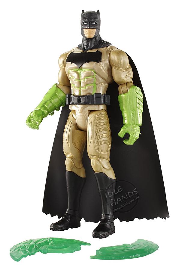 Mattel Batman v Superman Dawn of Justice Gauntlet Assault Batman 6 inch Figure 01