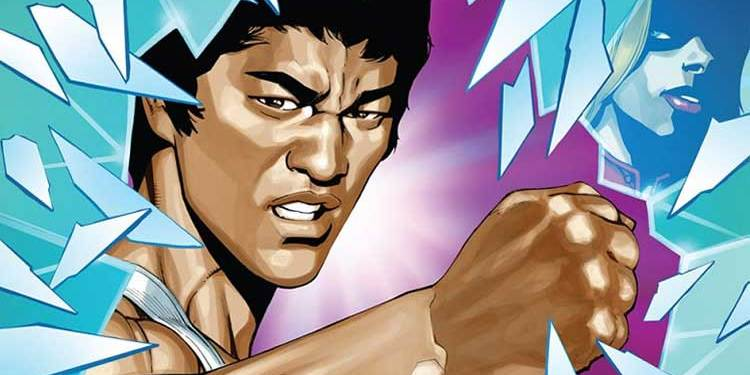 Wayne Hall, Wayne's Comics, Bruce Lee, Dragon Rises, Jeff Kline, Darby Pop, Shannon Lee,
