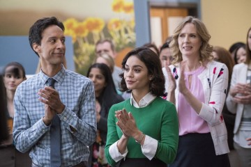Danny-Pudi-and-Vanessa-Hudgens-in-Powerless