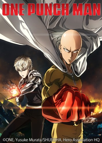 One Punch Man-Anime Key Art