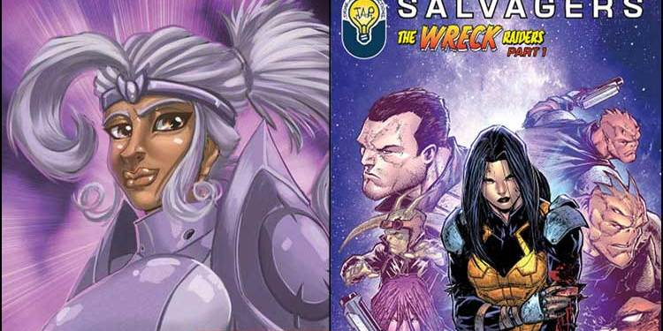 Wayne Hall, Wayne's Comics, Resistance Entertainment, Hashtag Comics, Souls Eternal, Bosdan Neswiacheny, Rob Torres, Bob Salley, Salvagers, Star Wars