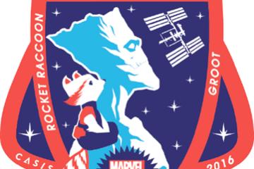 groot in space
