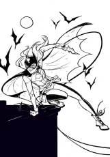 coloring-batgirl