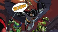 DC Comics, IDW Publishing, Batman, Batgirl, Robin, TMNT, Teenage Mutant Ninja Turtles, Donatello, Leonardo, Michelangelo, April, Raphael, Mad Hatter,