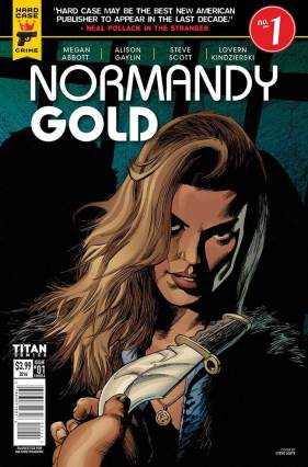 Normandy Gold from Titan Comics