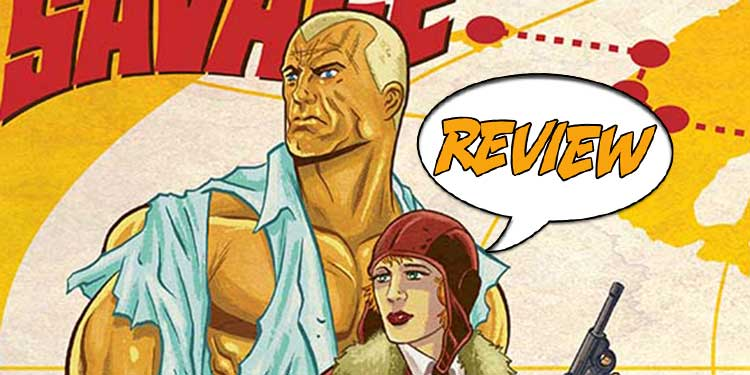Doc Savage Ring of Fire Review