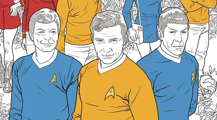 solicitations dark horse comics announces new star trek coloring books major spoilerscomic book reviews news previews and podcasts - Star Trek Coloring Book