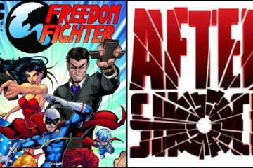 Wayne Hall, Wayne's Comics, Aftershock, Mike Marts, Freedom Fighter, Animosity, Marguerite Bennet, A.J. Fulcher, Michael Heitkemper, Insane Comics, Rough Riders, Replica,