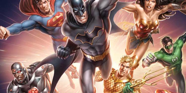 Warner Bros., DC Universe, Animated Movies, Press Release, Justice League, Batman