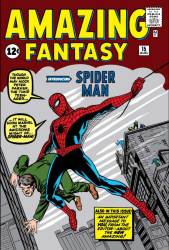 Amazing Fantasy #15 first appearance of Spider-Man