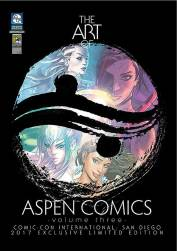 Aspen Comics at the San Diego Comic Con