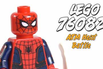 Spider-Man Homecoming LEGO ATM Heist Battle