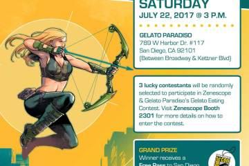 Zenescope Entertainment Gelato Eating Contest