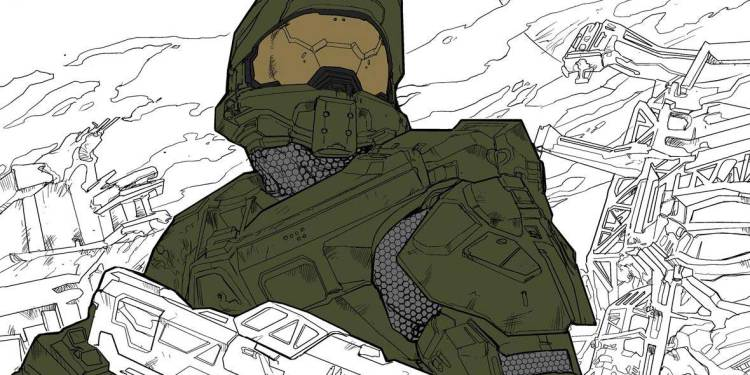 Halo Coloring Book