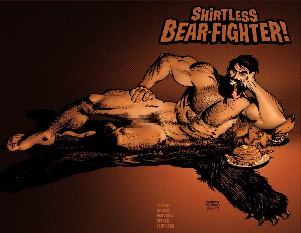 Shirtless Bear-Fighter #3