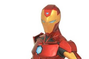Marvel Ironheart Statue
