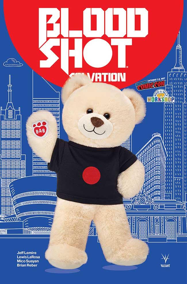 Bloodshot Salvation Bear