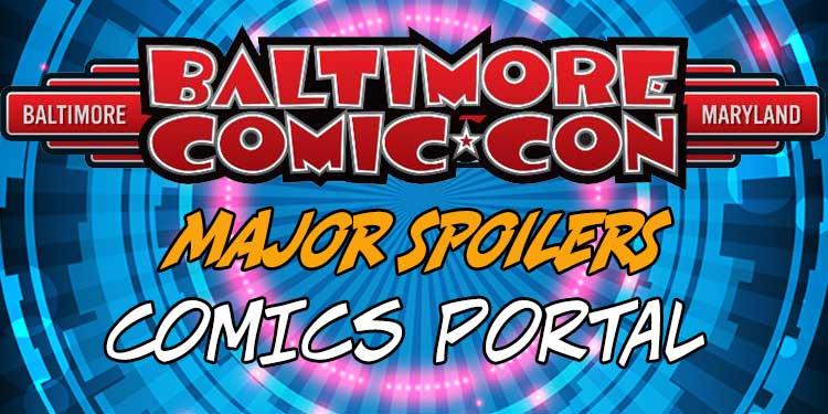 Baltimore Comic Con, Comic Book Convention, Comics Portal, Opinion