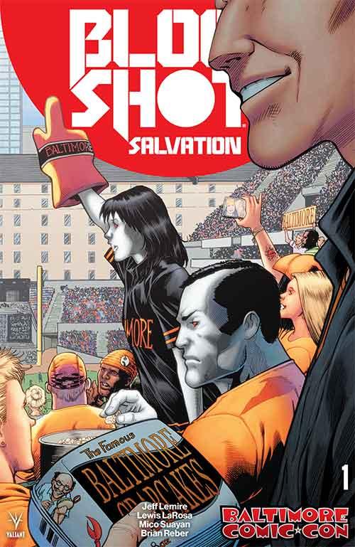 Bloodshot Salvation Baltimore Comic-Con Variant