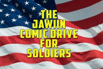 Jawinn Comic Drive For Soldiers