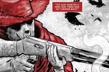 Wayne Hall, Wayne's Comics, Mary, Crimson Rider, Jack Kirby, western, crime, Gunsmoke, hanging, family