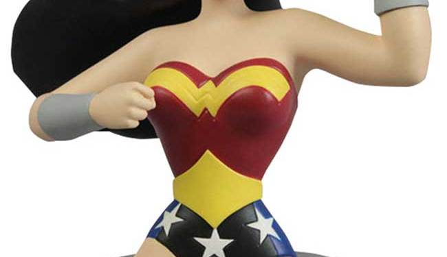 Wonder Woman Justice League Animated Bust
