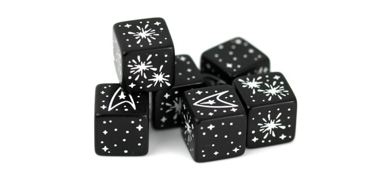 Star Trek Adventures Challenge Dice