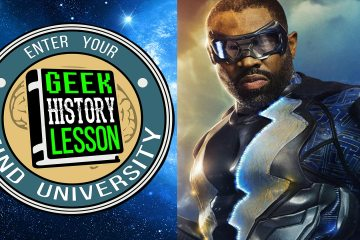 Black Lightning Geek History Lesson Jefferson Pierce