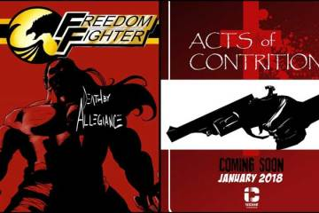 Wayne Hall, Wayne's Comics, Freedom Fighter, A.J. Fulcher, Michael Heitkemper, Insane Comics, Acts of Contrition,