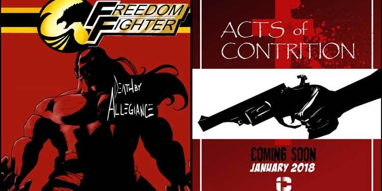 Wayne Hall, Wayne's Comics, Freedom Fighter, A.J. Fulcher, Michael Heitkemper, Insane Comics, Acts of Contrition,