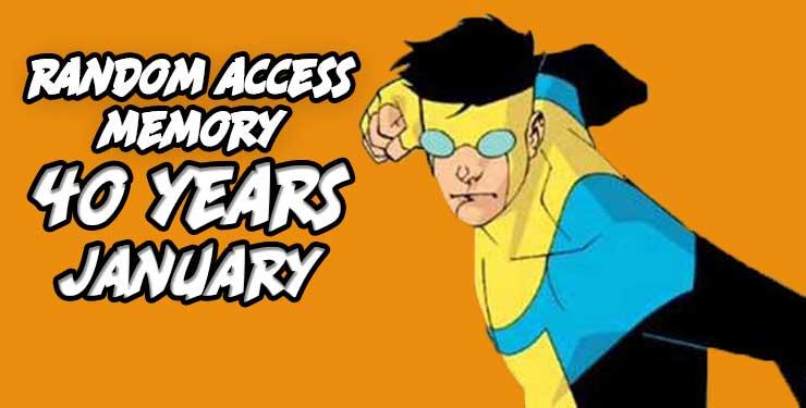 Random Access Memory January 2018