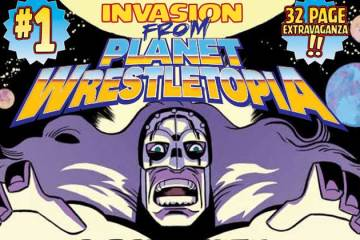Wayne Hall, Wayne's Comics, Invasion from Planet Wrestletopia, Comixology, Ed Kuehnel, Matt Entin, Comixology,