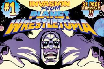 Wayne Hall, Wayne's Comics, Invasion from Planet Wrestletopia, Comixology, Ed Kuehnel, Matt Entin, Comixology,