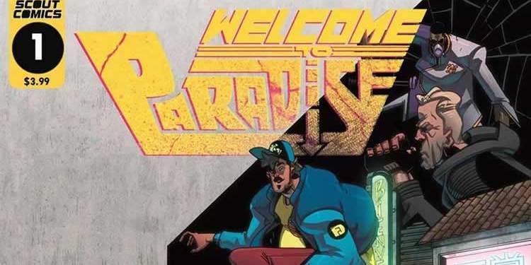 Wayne Hall, Wayne's Comics, Manny, Rojo, Welcome to Paradise, Scout Comics, A.C. Medina, Morgan Sawyer,