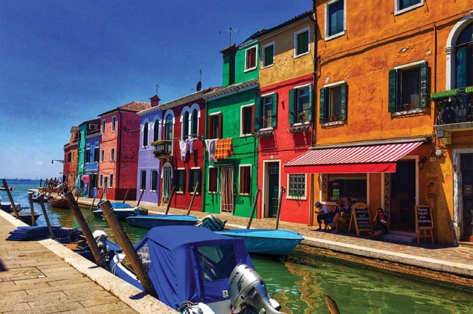 canal murano and burano